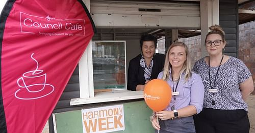 Council Cafe At Alma Bamblett Centre Pioneer In April