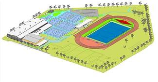 New Multi-million Dollar Sports Precinct