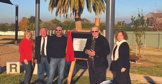 Hanwood Cycleway And Henderson Oval Officially Opened