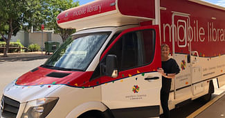 Griffith Mobile Library Back On The Road