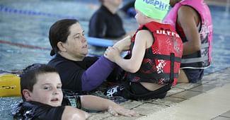 Swim School Students Welcomed Back