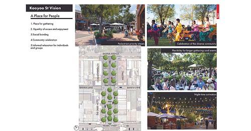 Draft Kooyoo Street Plaza Concept Plan